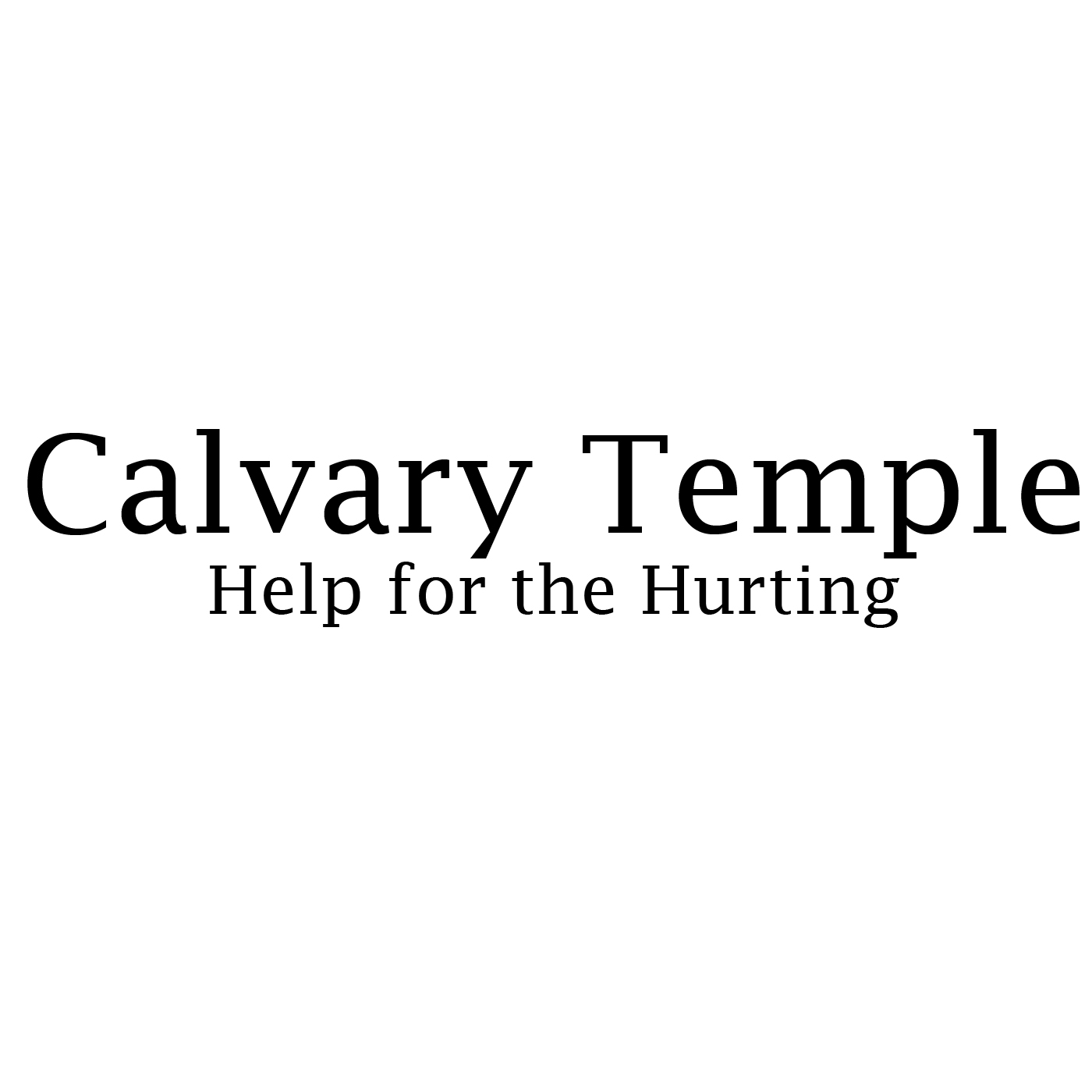 Calvary Temple - Sermons