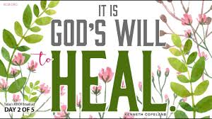 God's Will is to Heal